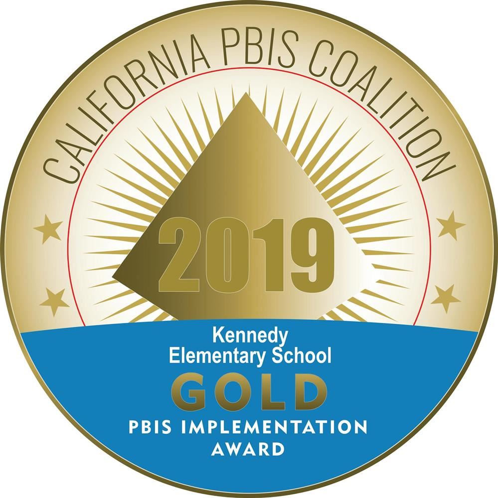 2019 PBIS Gold Implementation Award